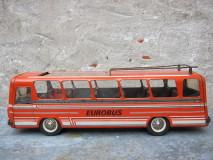 Blikken eurobus van het merk Joustra