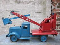 Monumentale Kraanwagen, een  zeldzaam exemplaar