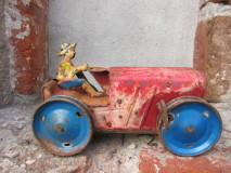 Blikken Marx Tractor uit de 40-jaren