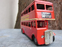 Tri-ang Minic Double Decker Bus