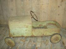 Antieke Metalen Trapauto